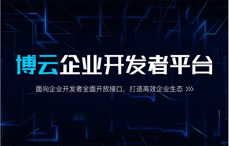 博实结博云开放平台发布,让连接更简单
