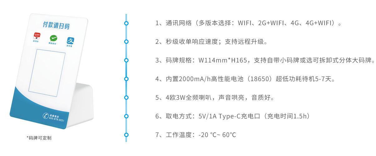 4G云播报音箱核心功能