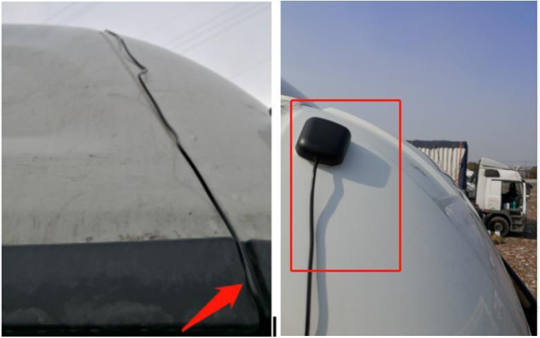 定位天线和主电源线安装要求