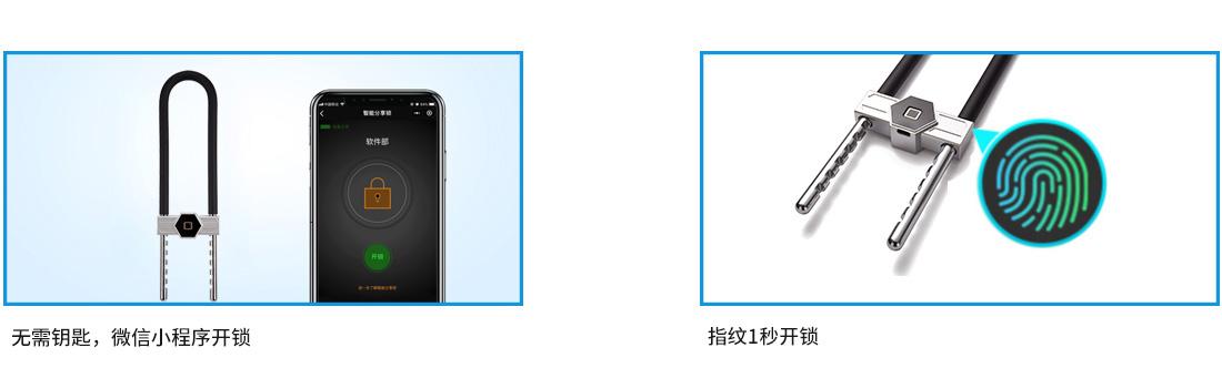 指纹蓝牙智能锁LG01功能介绍