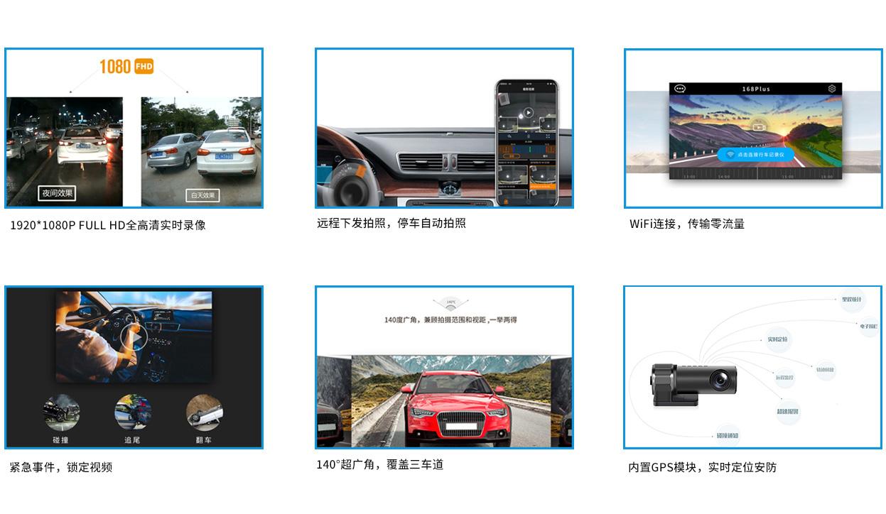 超高清定位行车记录仪GH02